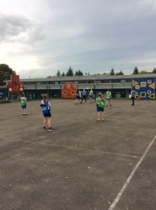 Netball Friendly - SS Peter and Pauls - 10.10.17 (10)